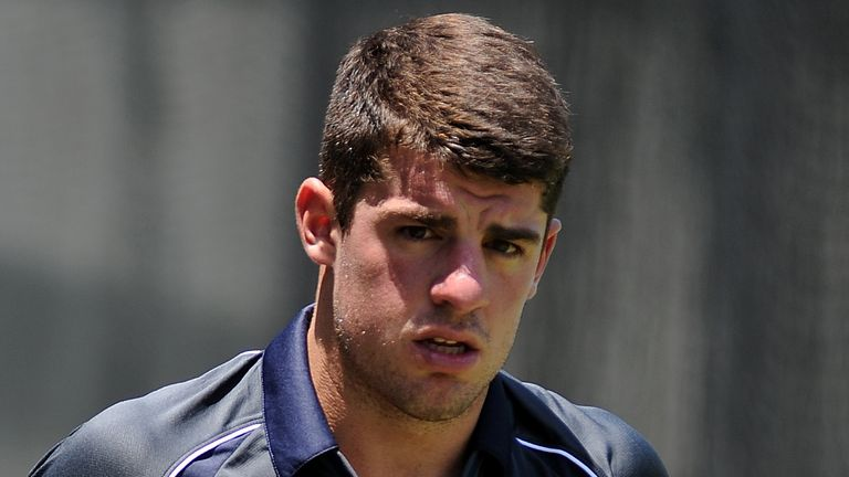 Henriques: impressed in his first Test match for his country