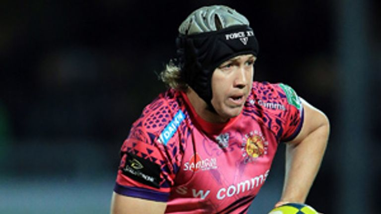 Myles Dorrian: Signed for London Irish on a two-year deal from Exeter Chiefs