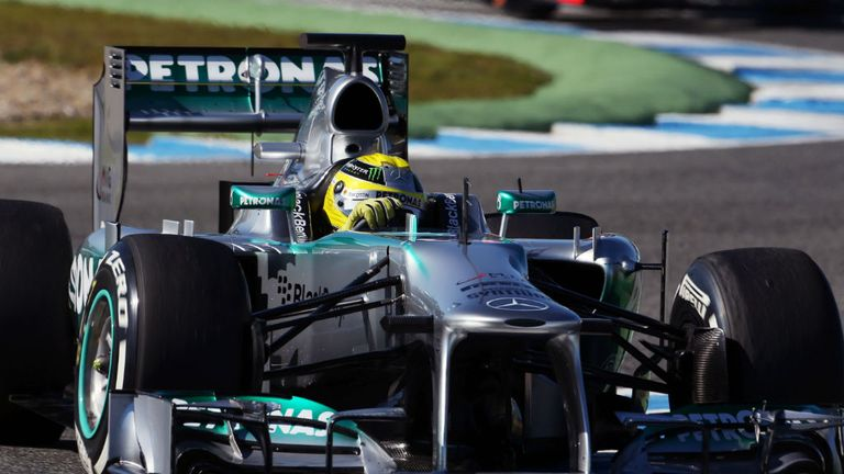 Nico Rosberg: Completed 148 laps in total on Thursday