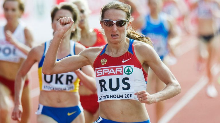 Olesya Syreva: Handed a two-year ban for doping offences