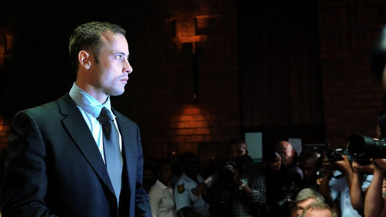 Oscar Pistorius: Was not in court on Thursday