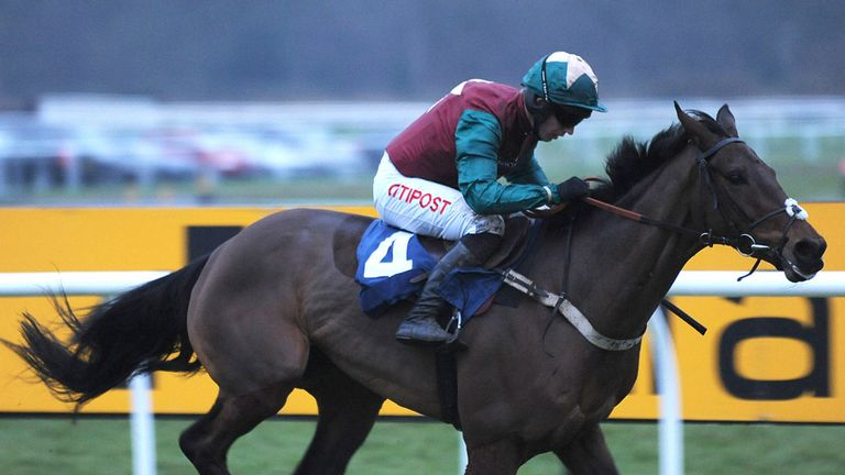 Oscar Rock impresses at Newbury