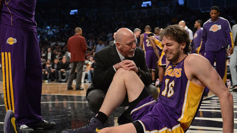Pau Gasol: Facing long spell out due to foot injury
