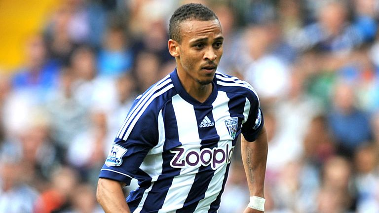 Peter Odemwingie: Back in training with West Brom
