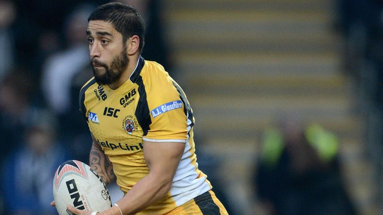 Rangi Chase misses next two Castleford games