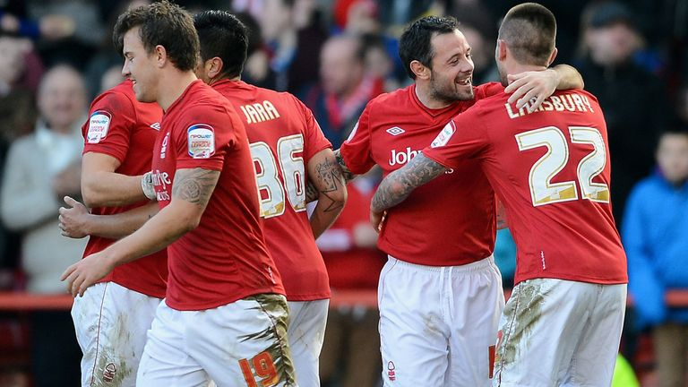 Andy Reid (c): Netted for Nottingham Forest