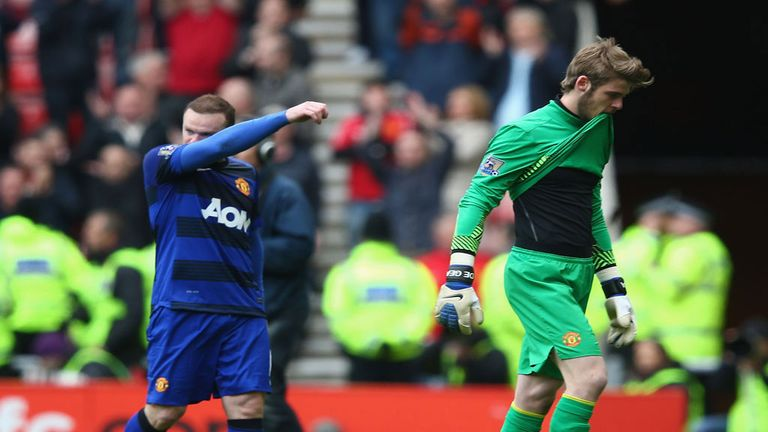 Wayne Rooney: Defends team-mate David de Gea following recent criticism of the Manchester United goalkeeper