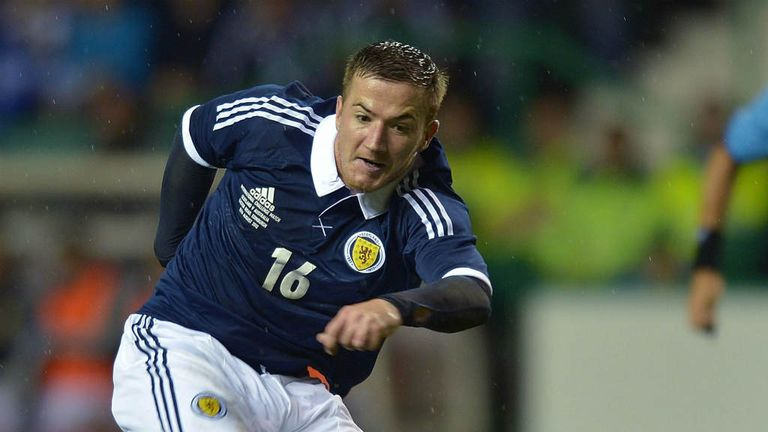 Ross McCormack: Striker is out of Scotland's friendly against Estonia