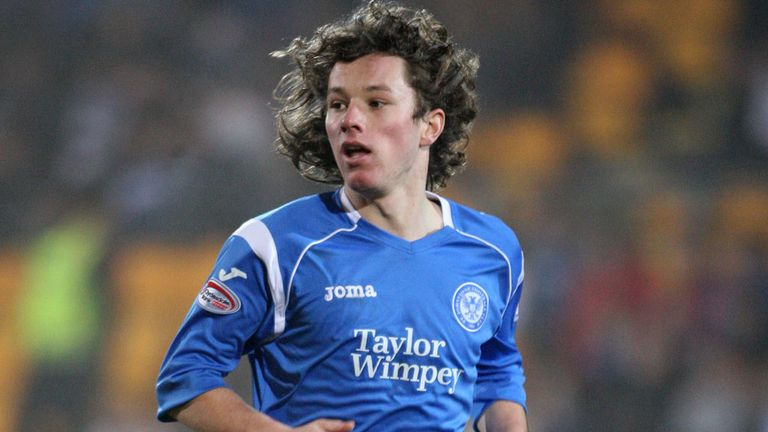 Stevie May: Called up to Scotland under-21 squad