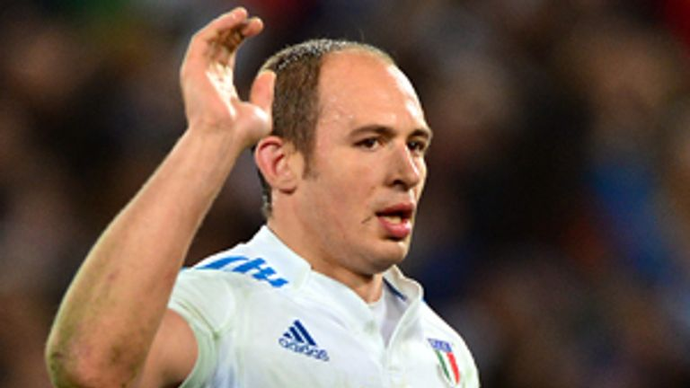 Sergio Parisse: Insists Scotland are favourites for their Murrayfield meeting with Italy
