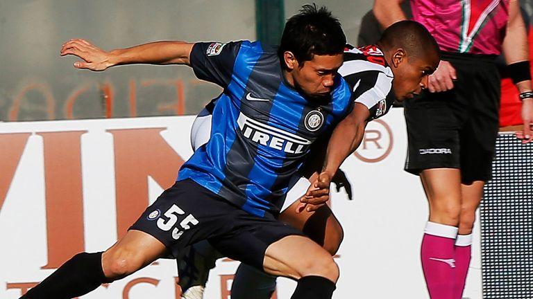 Yuto Nagatomo: Inter's Japanese defender suffered injury in Milan derby