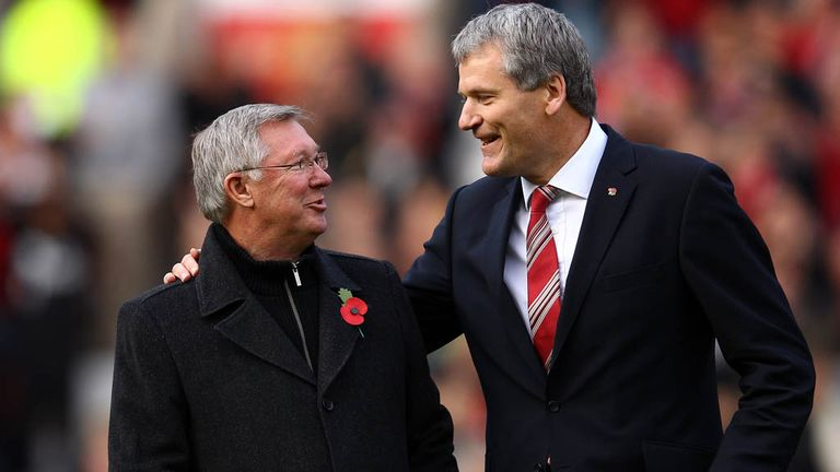 David Gill: Manchester United chief executive in tribute to Sir Alex Ferguson