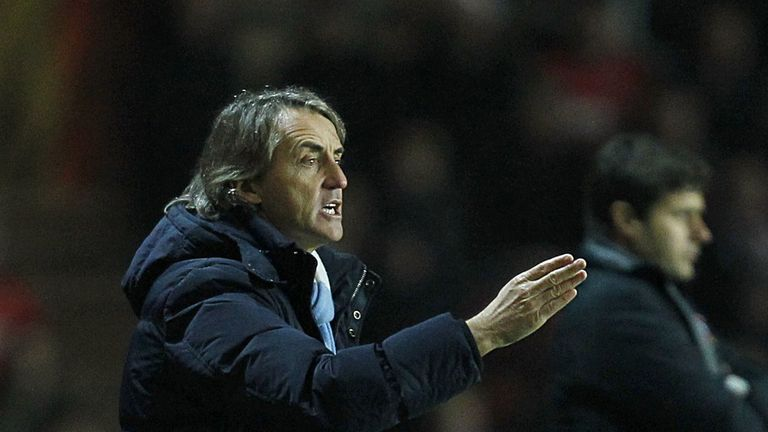 Roberto Mancini: Favourite in next manager to leave his post