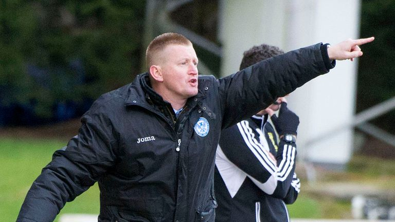 Steve Lomas: Impressed after his St Johnstone side bounced back from their midweek defeat to Hearts