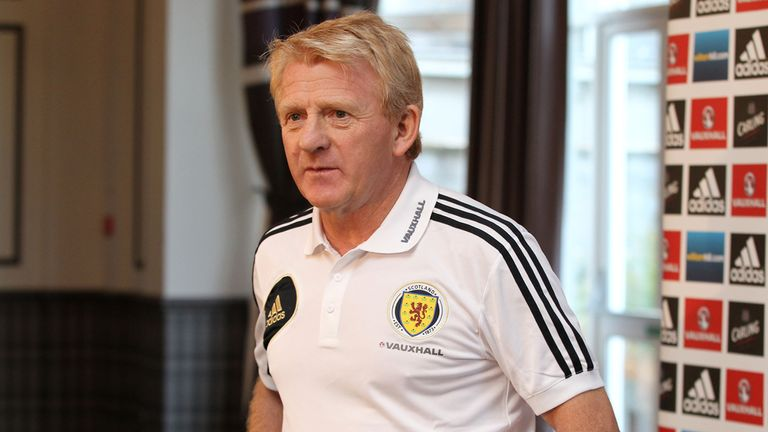 Gordon Strachan: Keen to field new faces