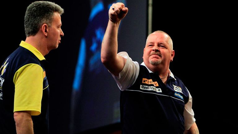 Robert Thornton's Scotland face Spain in the last 16