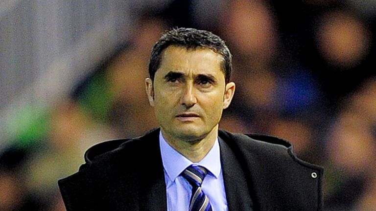 Ernesto Valverde: Refusing to read too much into his side's lofty placing