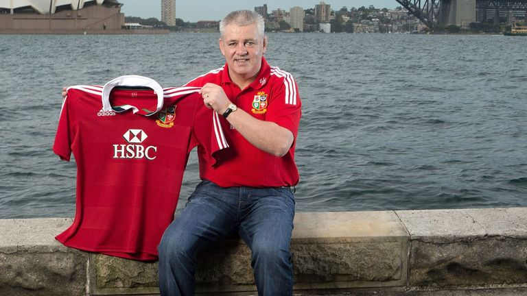 Warren Gatland: Who wants one of these...?
