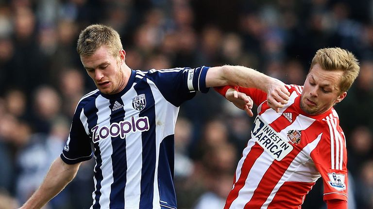 Chris Brunt: Praised the running of West Brom since his arrival in 2007