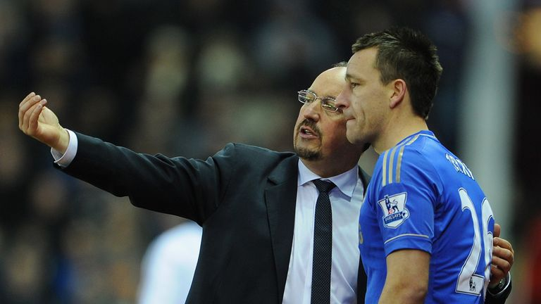John Terry: Chelsea captain respects Rafa Benitez's decisions
