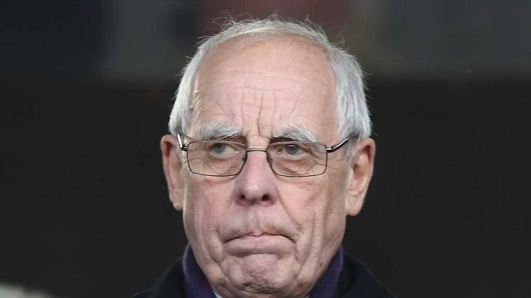 Peter Coates: Stoke owner was unhappy with referee Martin Atkinson's display at Newcastle