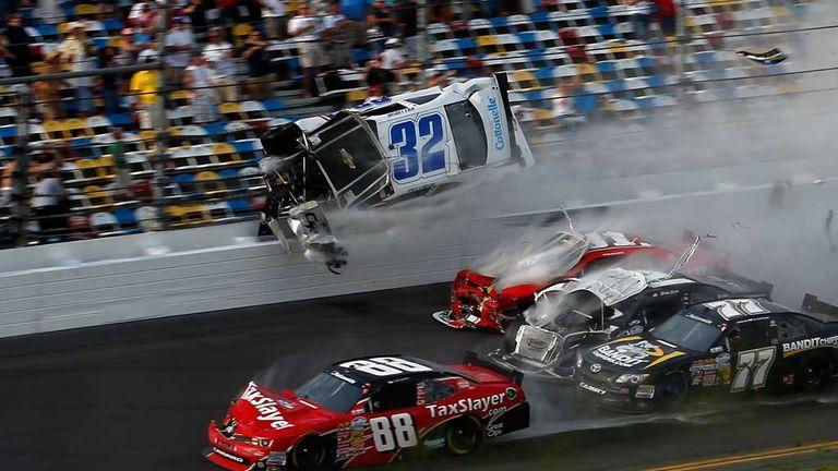 Nascar Crashes 2012 Nascar Car Crashes 2013