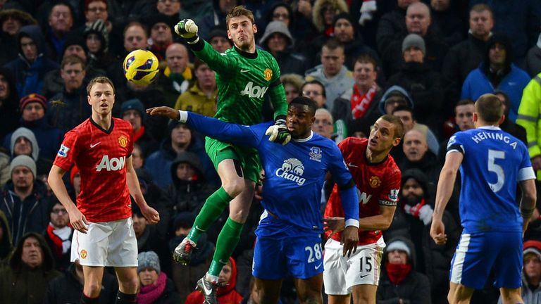 David de Gea: More used to the physicality of the English game