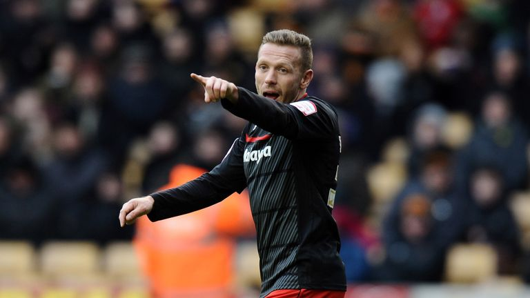 Craig Bellamy: Shows his support for Scotland manager Gordon Strachan