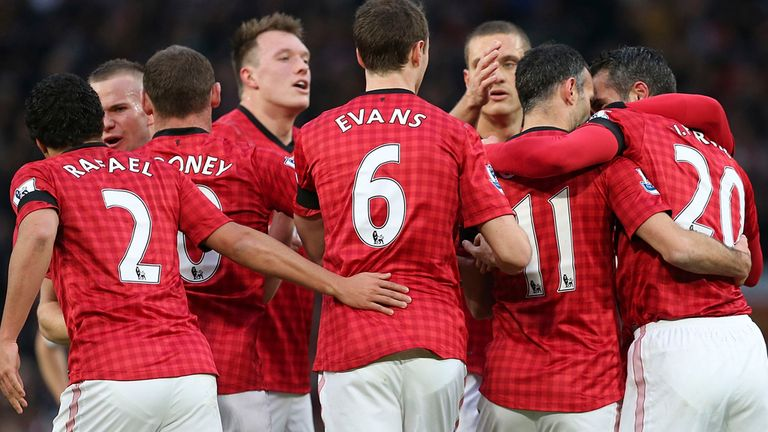 Sir Alex Ferguson's Manchester United will face Manchester City on Monday April 8