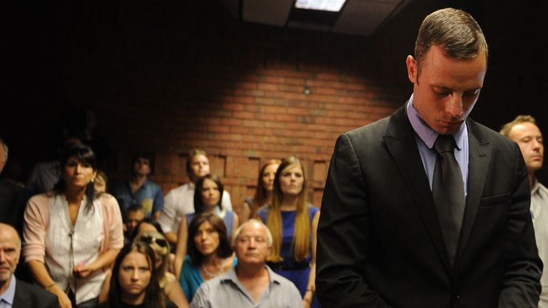 A decision is due in the Oscar Pistorius bail hearing at 12.30pm