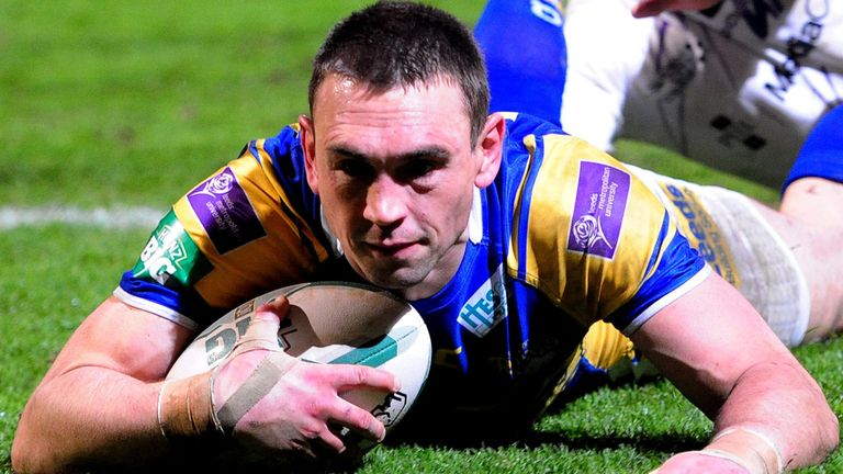 Kevin SInfield:Bidding to lead the Rhinos to world glory