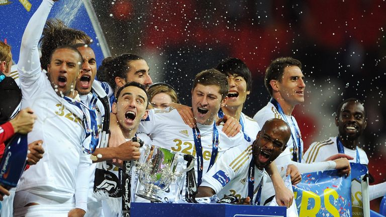 Will Swansea be celebrating once again in 2013/14?