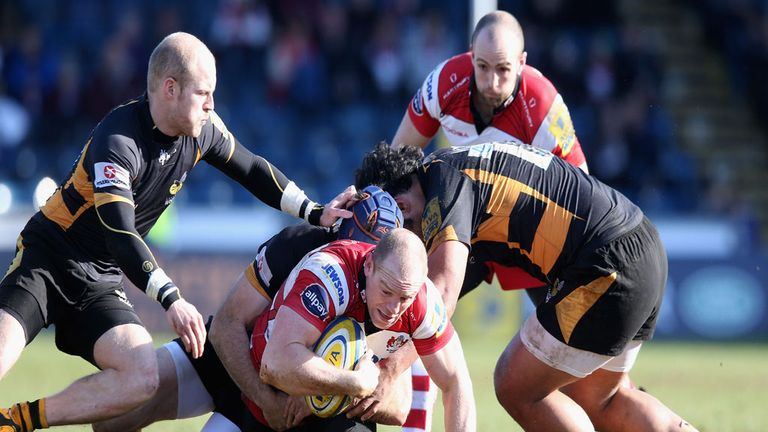 Wasps claimed victory over Gloucester on Sunday in a game dominated by the visitors