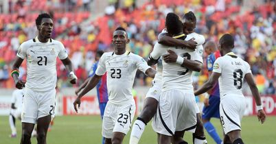 Ghana book semi-final spot