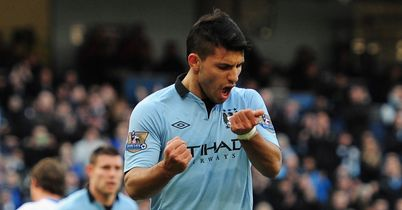 Sergio Aguero: Has been linked with Barcelona and Real Madrid