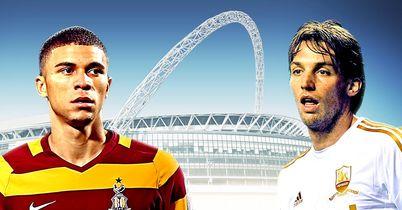 Bradford & Swansea: Go head to head in Sunday's cup final