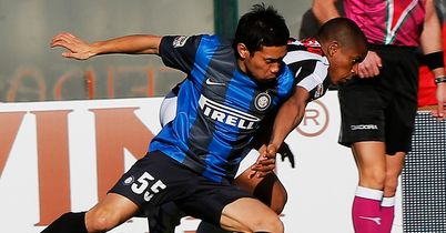 Yuto Nagatomo: Inter's Japanese defender suffered injury in Milan derby