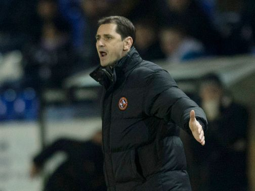 Jackie McNamara: Disappointed with a point