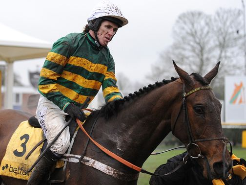 Tony McCoy: Rode a double at Ayr