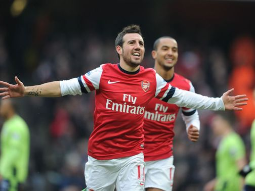 Santi Cazorla: Ready for Sunday's clash