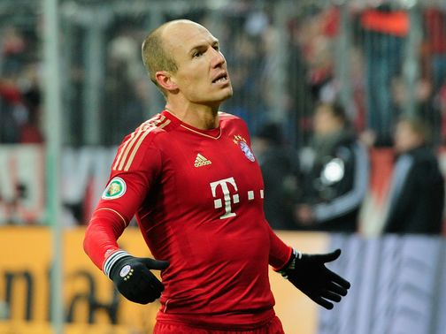 Arjen Robben scored the only goal of the game