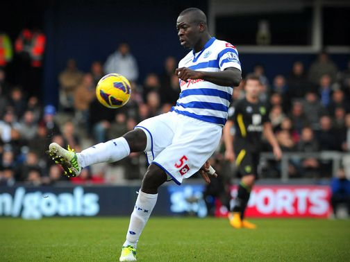 Christopher Samba: Joined QPR last month