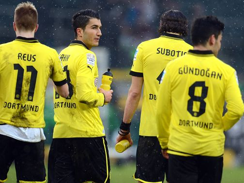 Dortmund could only manage a draw away at Gladbach