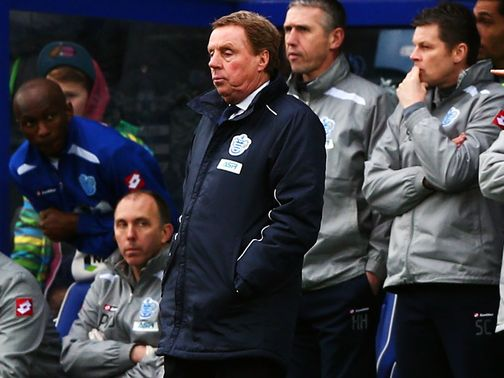 Harry Redknapp: Looking forward to Manchester United&#39;s visit