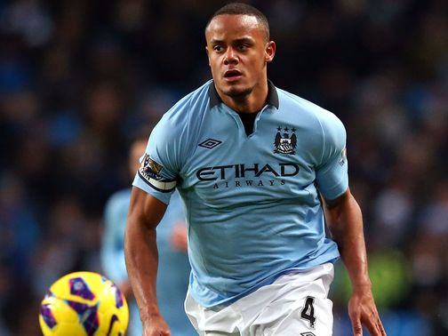Vincent Kompany: Doubtful for Manchester City