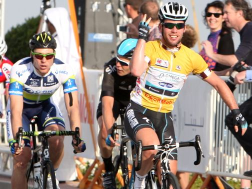 Mark Cavendish: Three stage wins in a row