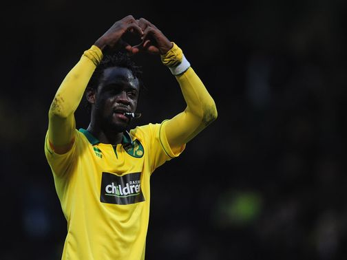 Kei Kamara: Celebrates his vital equaliser against Everton