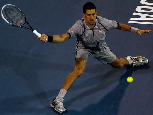 Novak Djokovic: Safely through to last four in Dubai