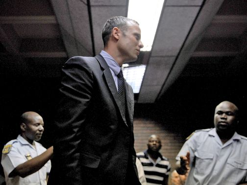 Oscar Pistorius: Back in court in Pretoria