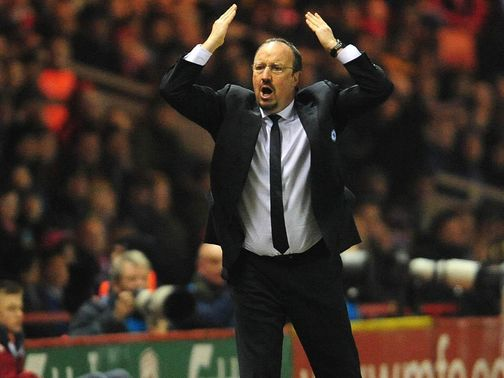 Benitez: Expected to be given at least one more game in charge
